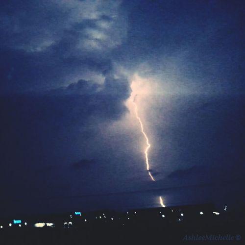 Amateur Photography Lightning Bolt San Antonio, Texas Latenightadventures