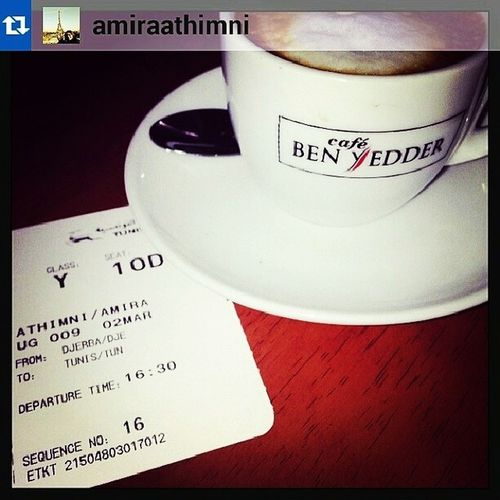 Special ShoutOut for @amiraathimni ! Cafesbenyedder Instacoffe Insta9hiwa repost coffeetime instalike