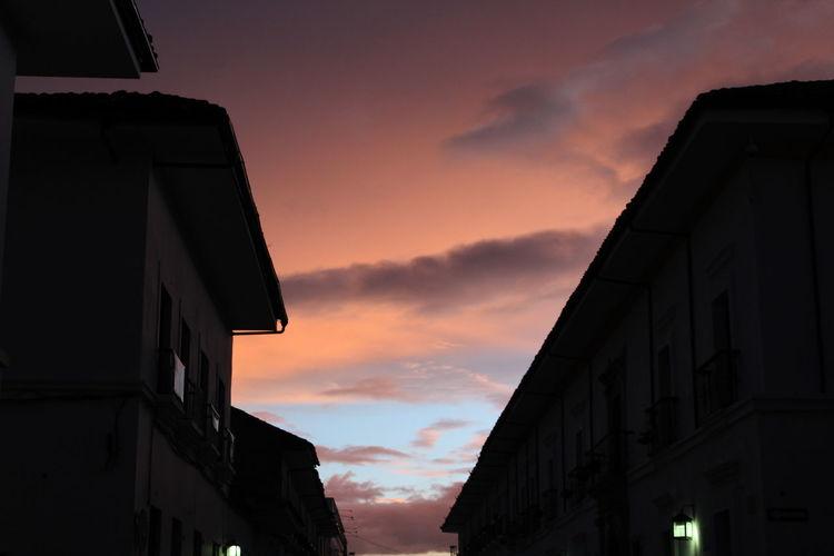 Popayán Colombia Street Light Sky Afternoon