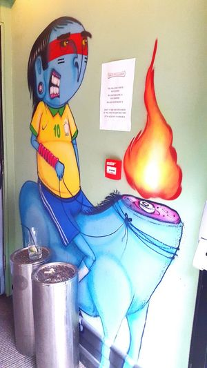 Graffiti Streetphotography Restaurant Gemeos Brazil Uk London Shoreditch