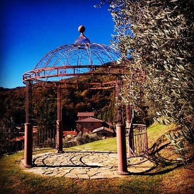 Gazebo Villa Gabrielli Ponteallapiera Tuscany Visitarezzo
