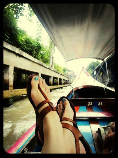 Enjoying Life Longtail Thailand_allshots Longtail Boat Feel The Journey
