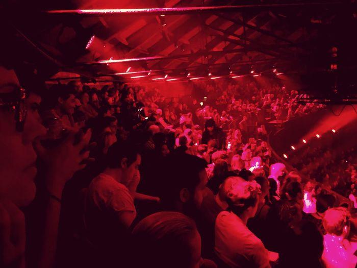 EyeEm X Apple Music Festival 2015 Red Velvet Great Crowd Florence + The Machine