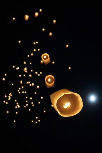 Fire Lantern Hope Lantern Lanterns Lantern Festival Celebration Hope