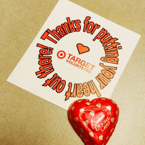 It's National Volunteer Week ! Thanks to all volunteers that give their time & effort. Special shout out to TargetVolunteers !