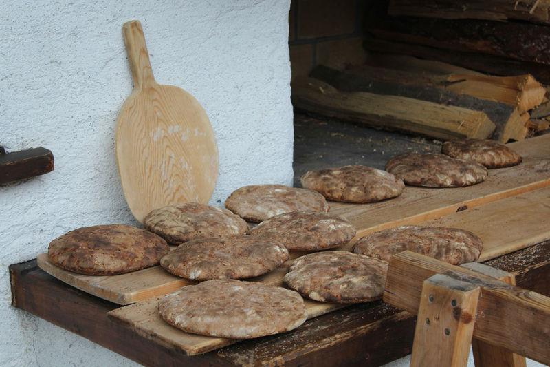 Baking Baking Bread Bread Jerzens Oven Pitztal