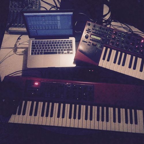 Nord Clavia Keyboard Synth Laptop Ableton Nord Lead Nord Electro Music Music Production