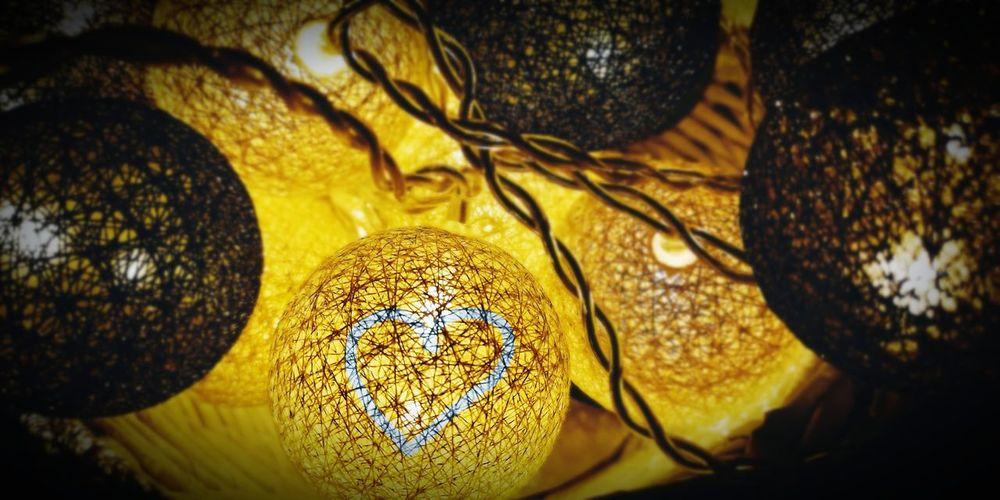 Full frame shot of yellow light painting