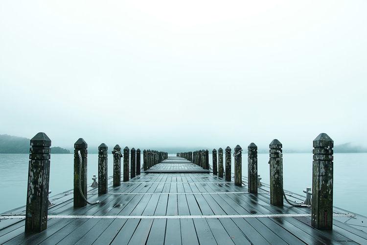 Long embankment