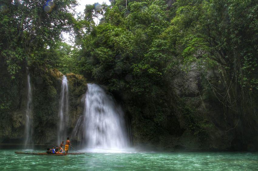#asia #nature_collection #EyeEmNaturelover #nature #rainforest Itsmorefuninthephilippines KawasanFalls Landscapes First Eyeem Photo