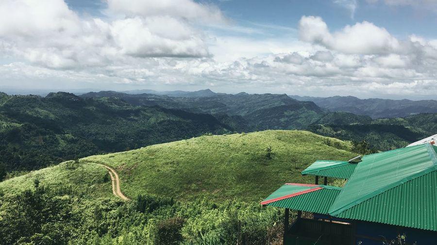 Travel Nature Bangladesh Landscape Cloud - Sky Green Color Scenics - Nature Sky Beauty In Nature Landscape Plant
