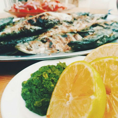Food Lemon Fish Lunch Traditional Morocco Popular Sardine Vscocam VSCO