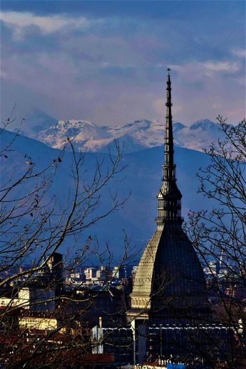Architecture City Built Structure Sunset Sky Tower Cityscape Travel Destinations Outdoors Building Exterior Skyscraper No People Urban Skyline Illuminated Cultures Day Fame Beauty In Nature Tourism Italy🇮🇹 Turin (Italy) Italy 🇮🇹 Architecture Sculpture City Gate