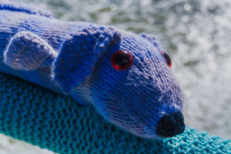 Beach Wool Yarn Yarn Bombing