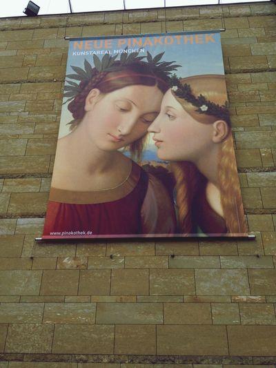 Spent half day with kids in Neue Pinakothek