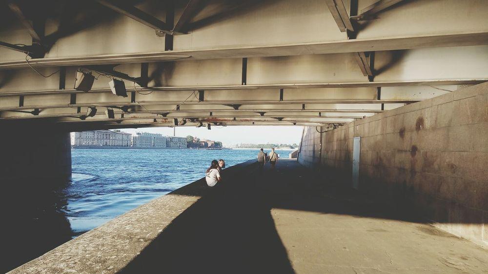 The Street Photographer - 2018 EyeEm Awards Sea Men Full Length Water Sunlight Shadow Architecture Horizon Over Water Calm Wave Tide Shore