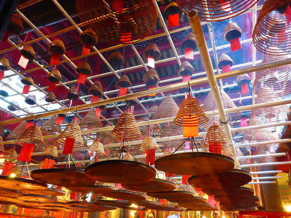 Architecture Art Art And Craft Arts Culture And Entertainment Built Structure Culture Cultures Famous Place HongKong Low Angle View Man Mo Temple Ornate Place Of Worship Religion Spirituality Temple Temple - Building Tradition Showcase: December