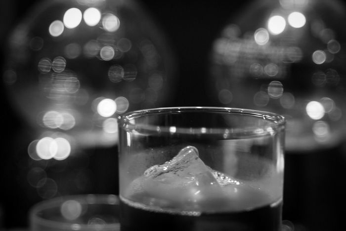 Indoors  Focus On Foreground Close-up Food And Drink Drink Drinking Glass No People Monochrome Bnw Blackandwhite Black & White Bokeh Thepuristnofilternoedit Oldlens Industar61LZ Industar61