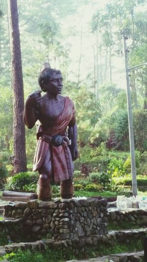 Statue Day Nature Outdoors Sculpture Beauty In Nature Tree Freshness Igorot