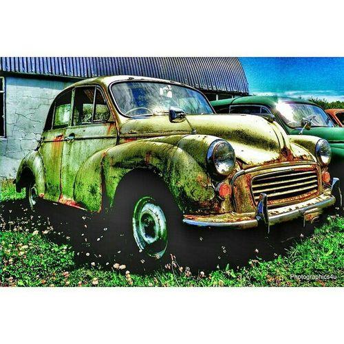 Morris Minor vintage cars. Location: nr Fishguard, Pembrokeshire, UK Morrisminor Vintage Cars Cars