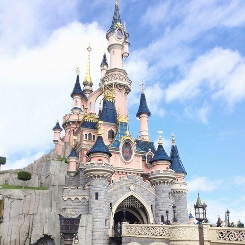 Disneyland Paris Disney Castle Princess Taking Photos Disney Disneyland Love Followme DisneyWorld Ilovedisney