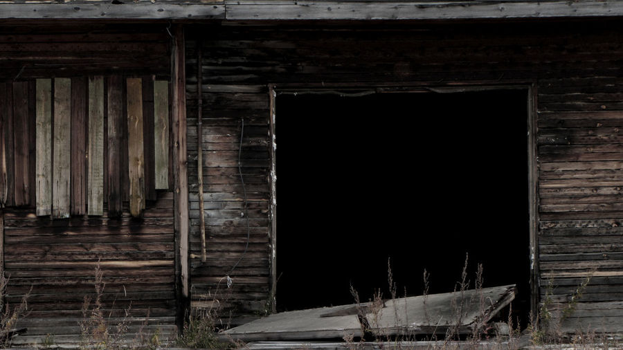 Emptiness Abandoned Architecture Building Exterior Decayed Beauty No People Run-down Wood - Material
