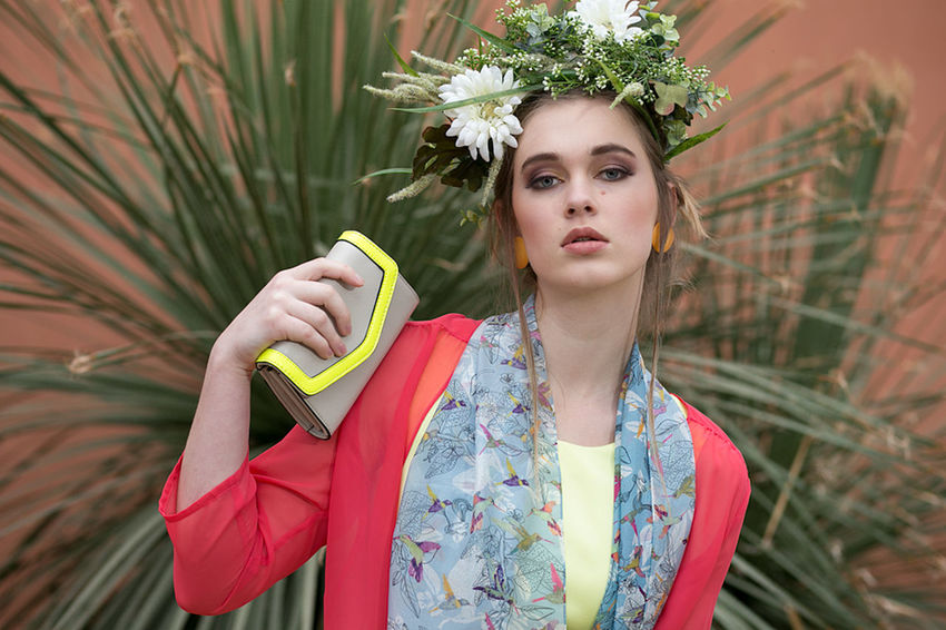 "This shoot was part of a year long collabortion with a fashion blog. I called this shoot ""Among the Cacti"". Beautiful Woman Botanic Botanic Garden Cactus Crown Fashion Fashion Photographer Flower Flower Crown Makeup Model One Person Young Adult Young Women"