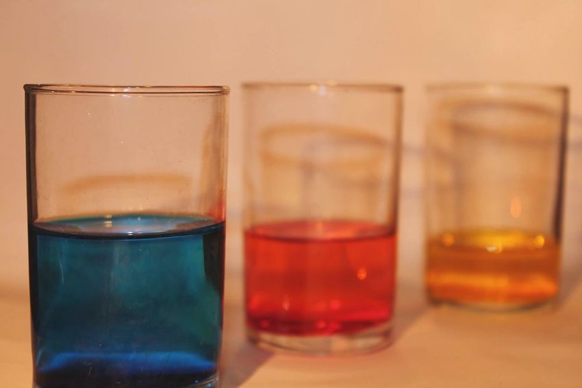 Glasses Paint Blue Red Yellow Water Light EyeEm Best Shots Alone Time Practicing