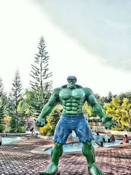 IncredibleHulk Water Tree One Man Only Nature One Person Sky Outdoors Adults Only Day Only Men People Headwear Adult First Eyeem Photo