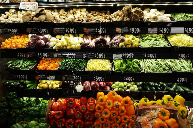 Food Stories Abundance Supermarket Vegetables In A Row No People Colorful Food Variation Fresh Produce Fresh Products Foodphotography Collection Of Objects Visual Feast