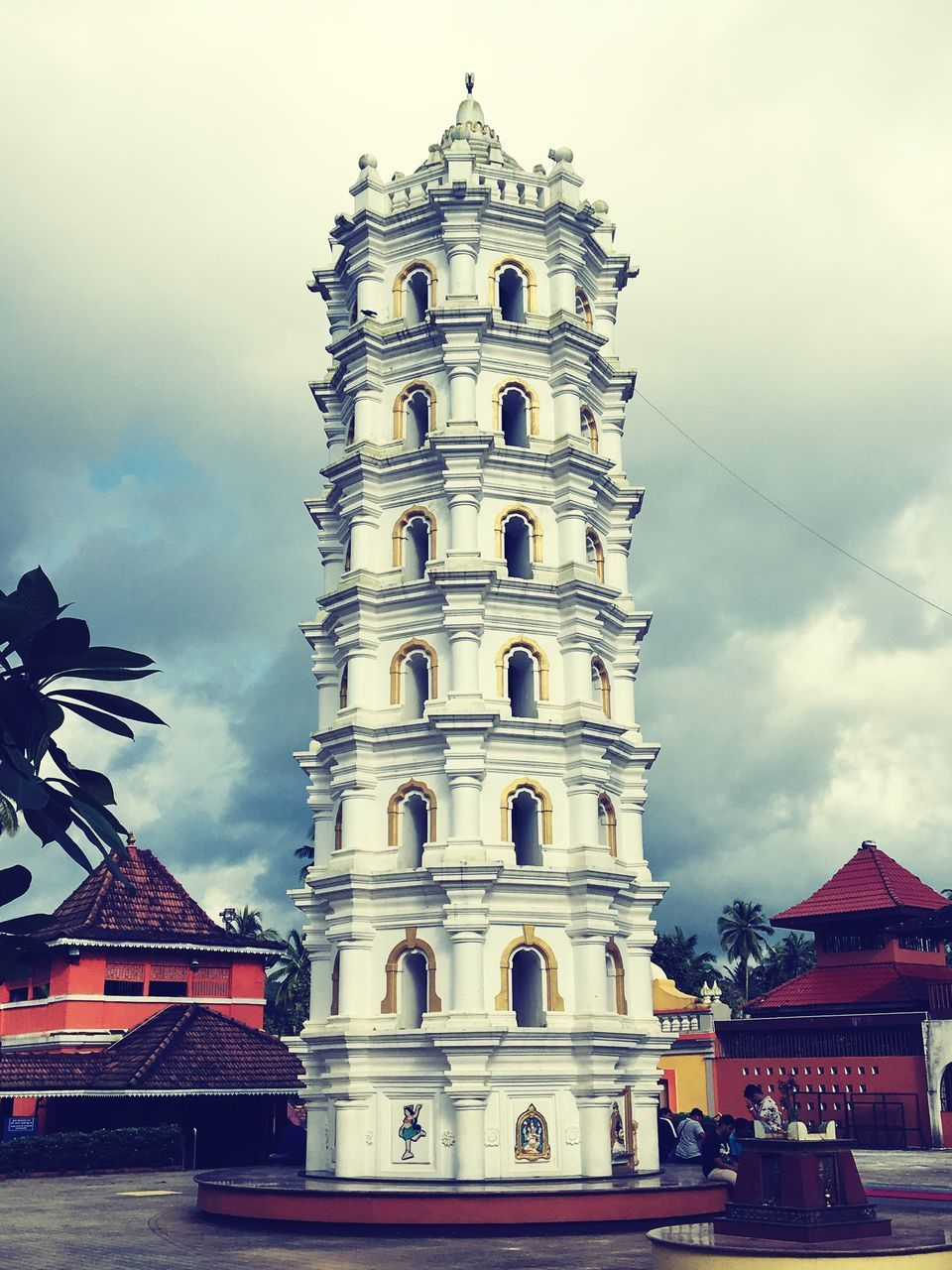 building exterior, architecture, built structure, sky, cloud - sky, building, low angle view, nature, place of worship, belief, religion, tower, travel destinations, no people, city, day, spirituality, the past, travel, history, outdoors, spire
