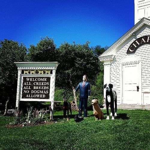 Amen. Dogchapel Huneck Vermont Vermontbyvermonters summerday beautiful