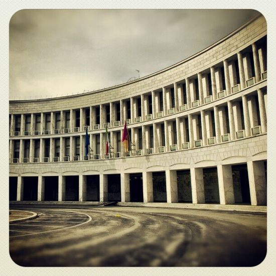 Roma EUR Razionalismo Officine fotografcheroma