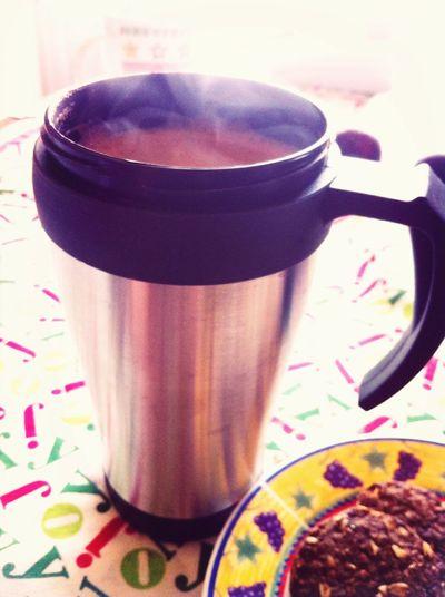 Coffee plus Cookies <3