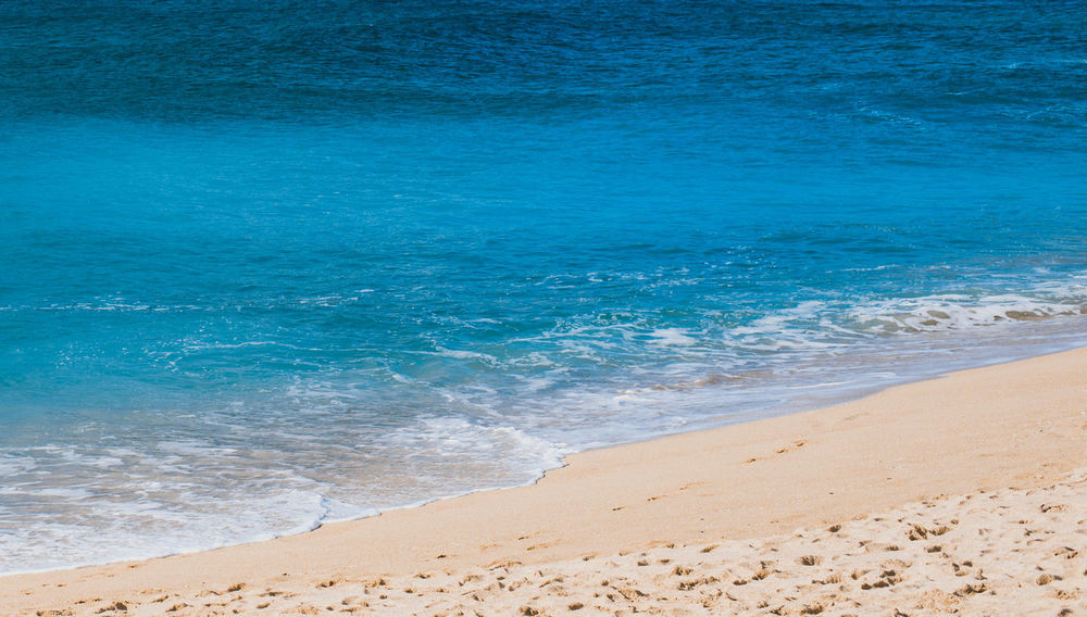Clean Water Beautiful Beach Beauty In Nature Blue Clean Water Beach Day England Horizon Over Water Nature No People Outdoors Sand Scenics Sea Shore Sky U Water Wave