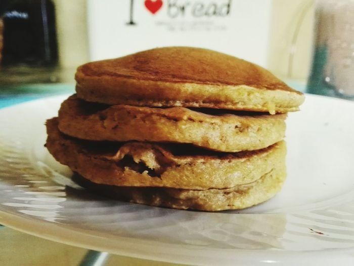 Homemade Food Healty Food Pancakes Breakfast ♥ Oatspancakes Enjoying Life Getinghealty