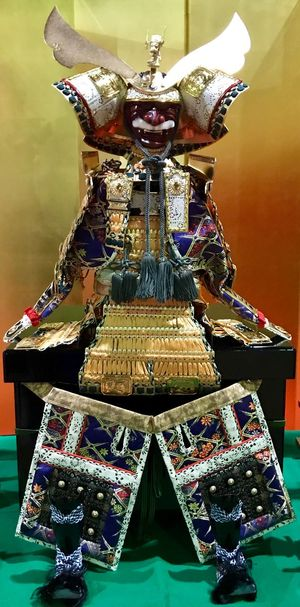 Samurai Japanese Festival Japanese Culture Culture And Tradition Statue Samurai Indoors  Close-up Art And Craft Design No People Luxury Ornate Still Life