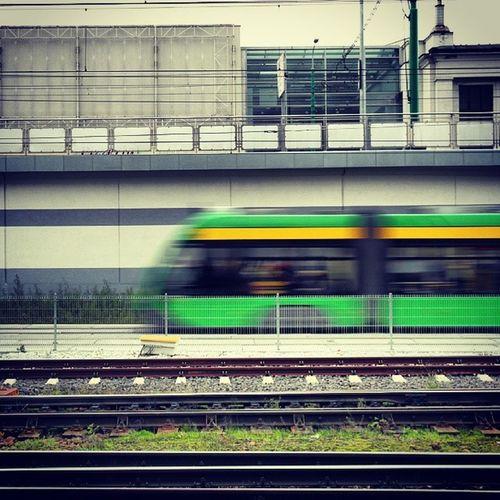 Architecture Transport The Street Photographer - 2014 EyeEm Awards Tram solaris tramino motionblur speed rail poznan Poznań
