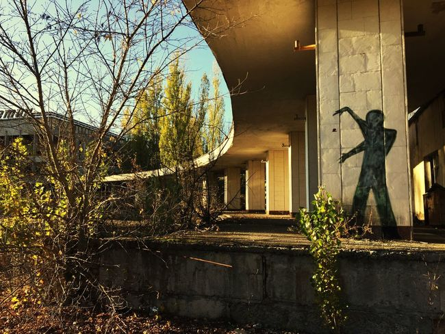 Abandoned Places Radiation Prypiat Ghost Town No People Chernobyl Exclusion Zone Graffiti Sunlight Autumn Nuclear Disaster Conquered By Nature Cultural Place