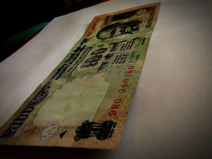 100 INR INDIA RUPEE Gandhi National Emblem