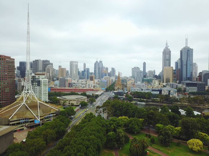 Aerial Drone Photography Drone  DJI Mavic Pro Aerial Shot Aerial View Taking Photos Taking Pictures Eye4photography  Urban Urban Landscape Architecture Highrise Skyscraper Travel Australia Melbourne Architecture City Skyscraper Cityscape Building Exterior Built Structure Modern Urban Skyline Sky Cloud - Sky Outdoors Travel Destinations Water