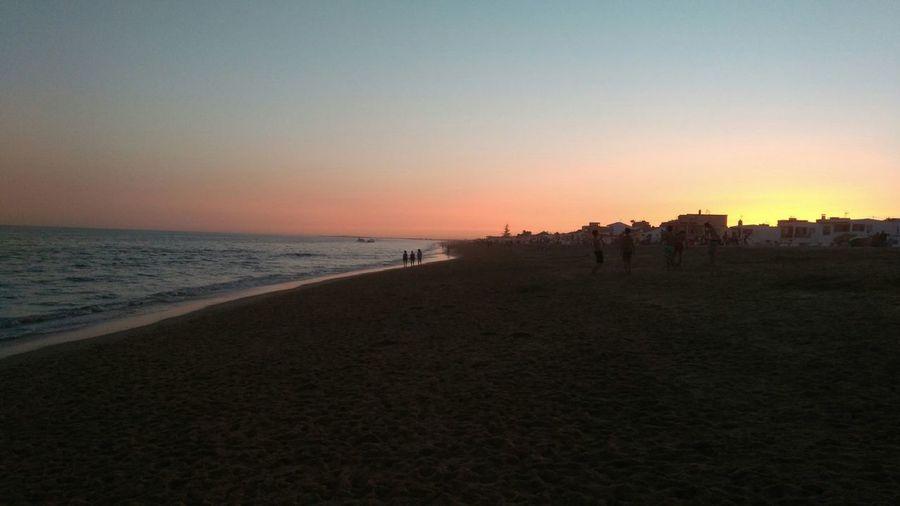 La Antilla - Huelva - Spain Sea Horizon Over Water Landscape