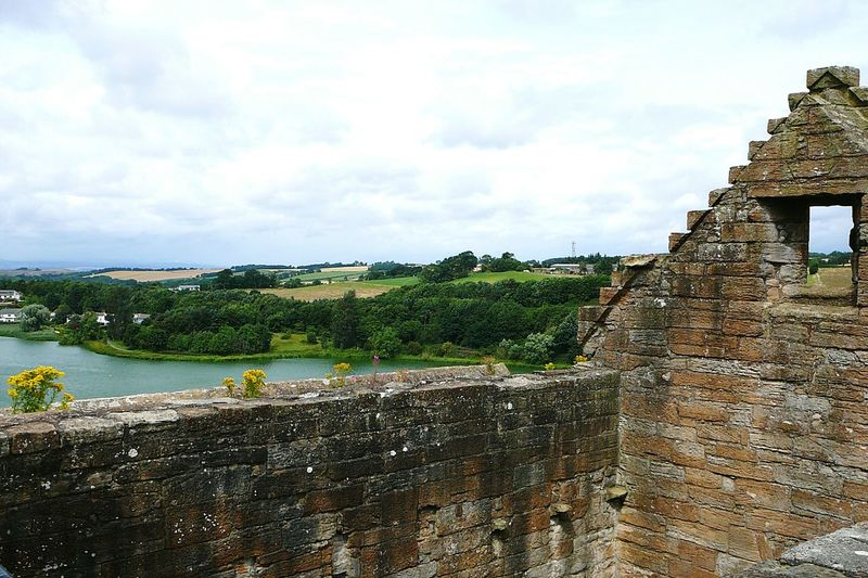 Room With A View - Linlithgow Castle ~ Castle Vacation Destination Linlithgow Loch Clouds And Sky Ruin Loch  Lake View Scotland Stone Material View From Above Tree Water Sky Cloud - Sky Architecture Building Exterior Historic Fortified Wall Medieval Fortress