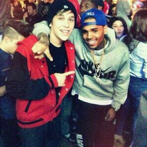 Met My Inspiration Chris Brown Coolest Guy Ever!