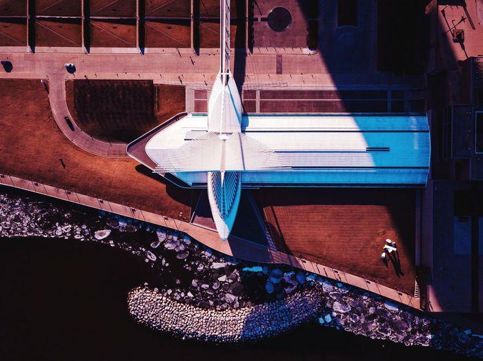 Aerial View Of Milwaukee Art Museum