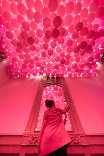 Milano Pink Balloons Fuorisalone2018 Luoisvuitton Pink Color
