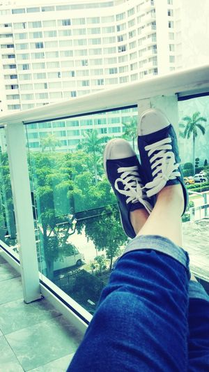 shoes with a view Hanging Out