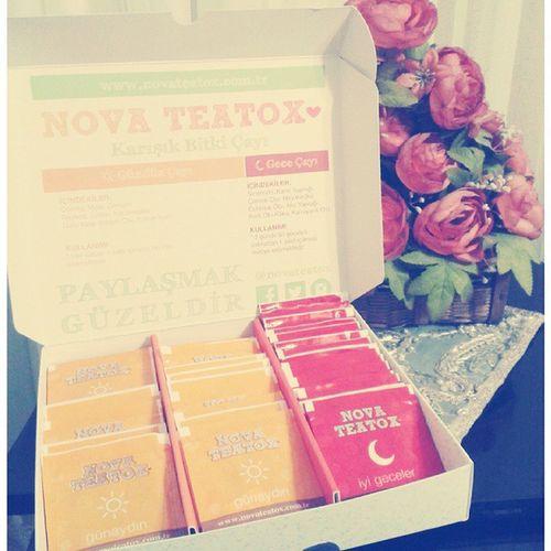 Nova teatox♥♥♡♡ Novateatox Gündüzçayı Geceçayı Paylaşmakgüzeldir