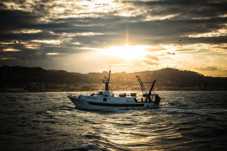 Home. Adriatic Boat Fishing Fishing Boat Fishing Industry Nautical Vessel Sailboat Scenics - Nature Sea Sunlight Sunset Travel The Great Outdoors - 2018 EyeEm Awards The Traveler - 2018 EyeEm Awards The Street Photographer - 2018 EyeEm Awards