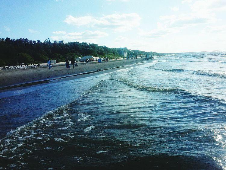 Love To Take Photos ❤ Sea Love Sea Love Summer Summer 2k16 Relaxing Hot Day Go Swimming Sand & Sea Beautiful Day Enjoying Life Nice Day